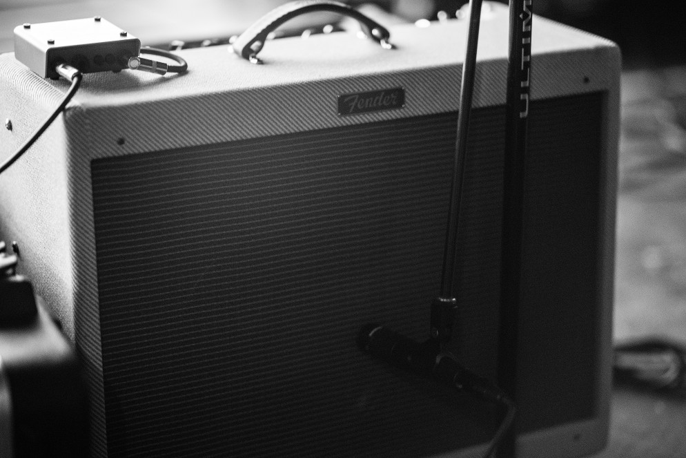 Guitar Amp ready for recording